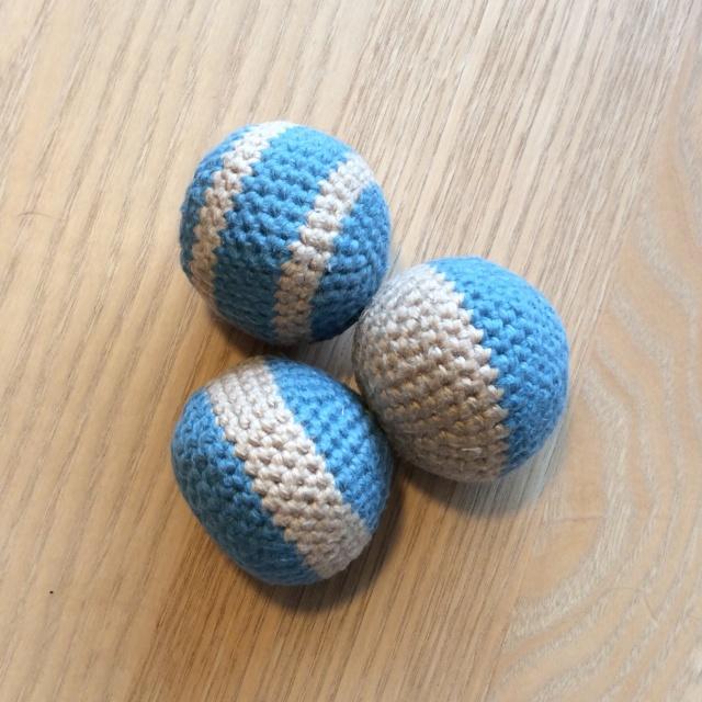 3 små bolde