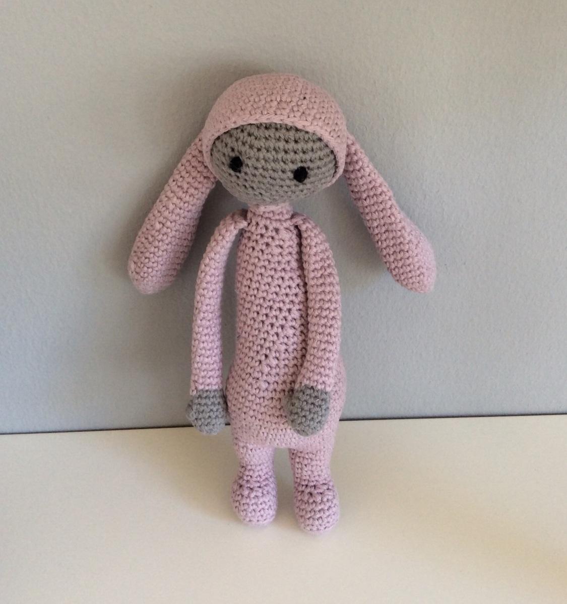 #765566 Dette års Hæklet Kanin Der Er God Til Små Baby Fingre SchnoorCaspersen Gør Det Selv Ting Til Baby 6191 112512006191