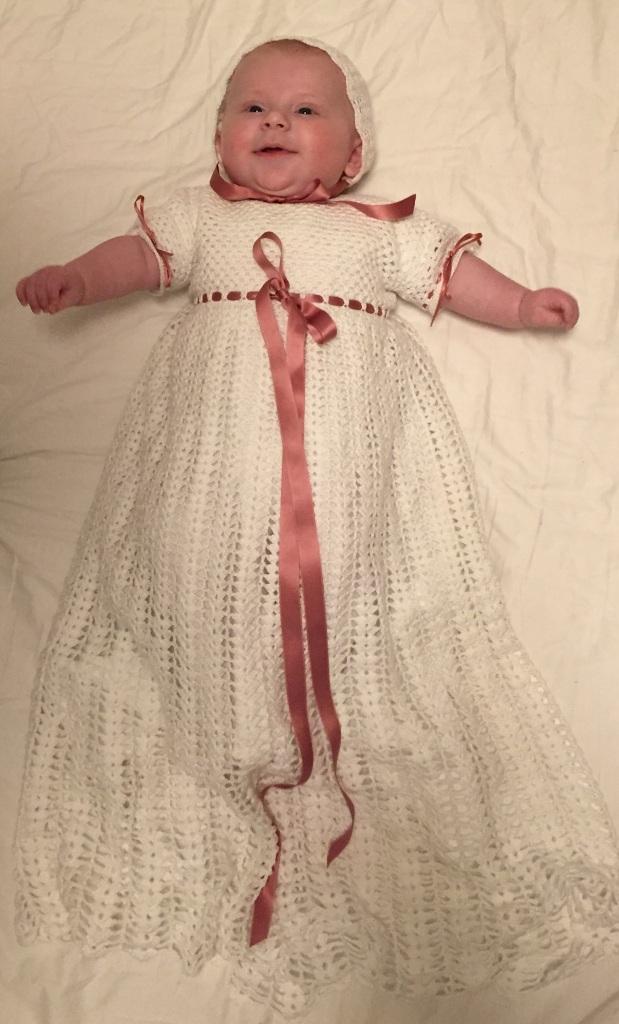 Hæklet dåbspynt | SchnoorCaspersen